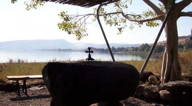 Tagha, sur le lac de Tibériade