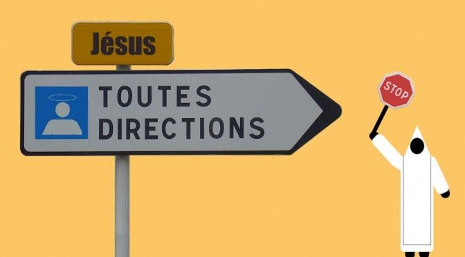 panneau toutes directions