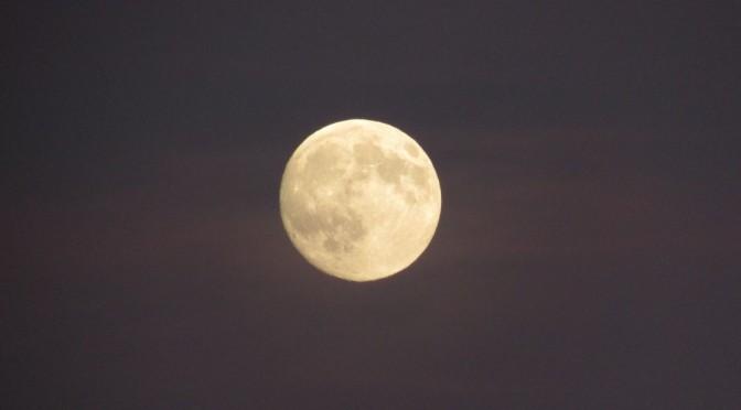 pleine lune pour le 33e dimanche ordinaire B