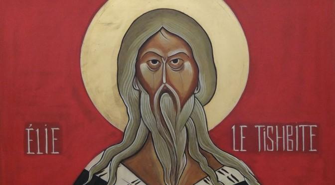 Icône du prophète Elie pour le deuxième dimanche de l'Avent C