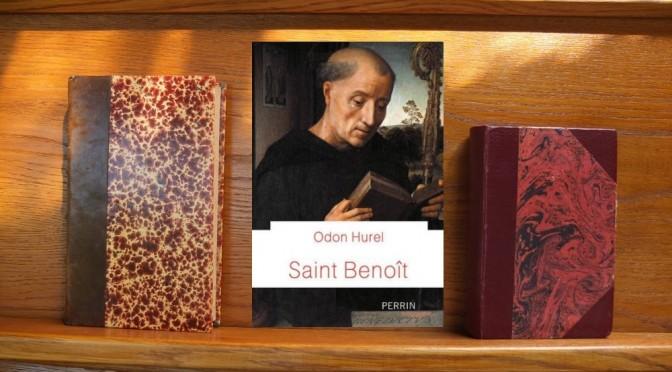 Odon Hurel, saint benoit, couverture